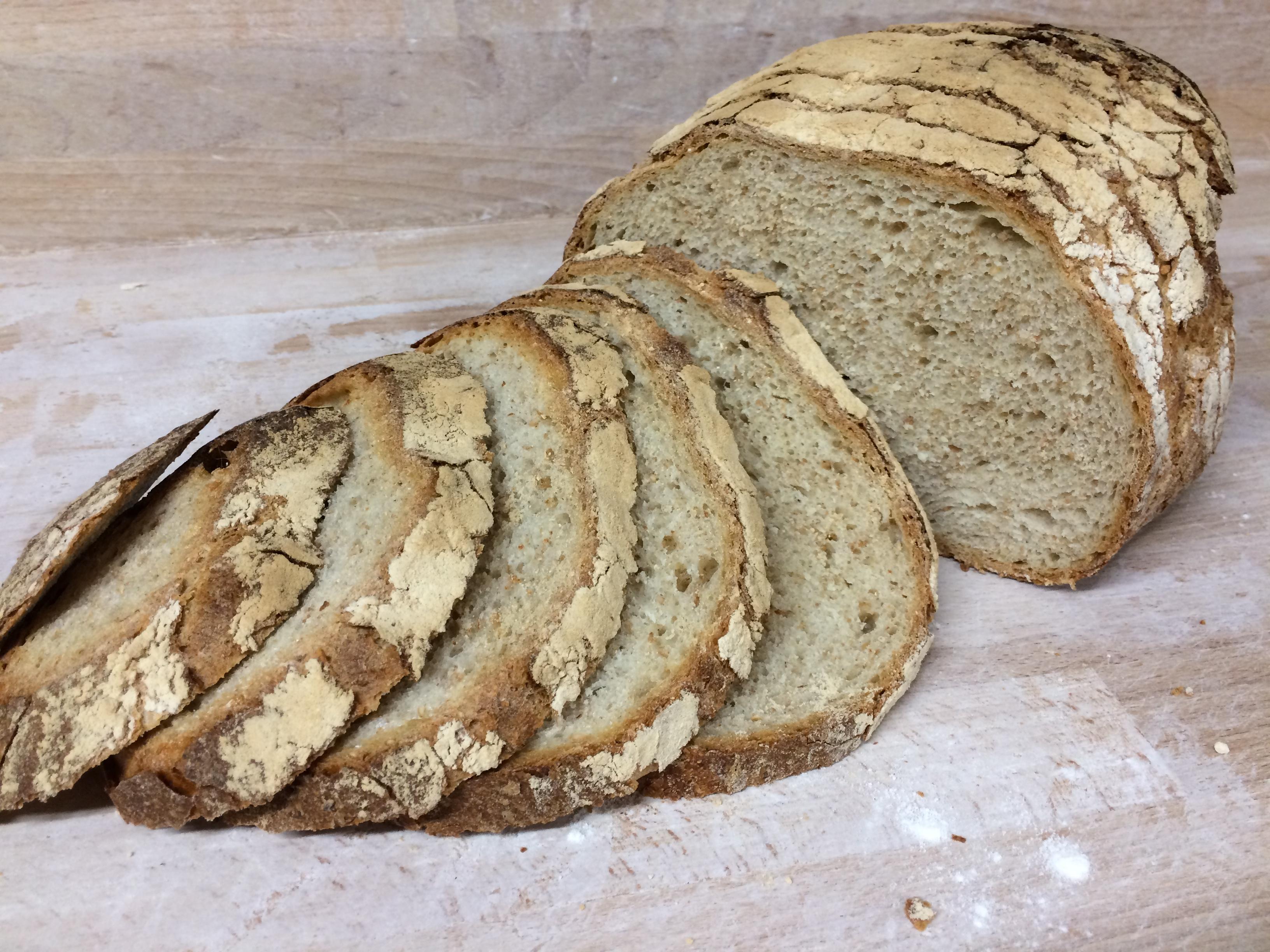 moulin d'André pain épeautre gris