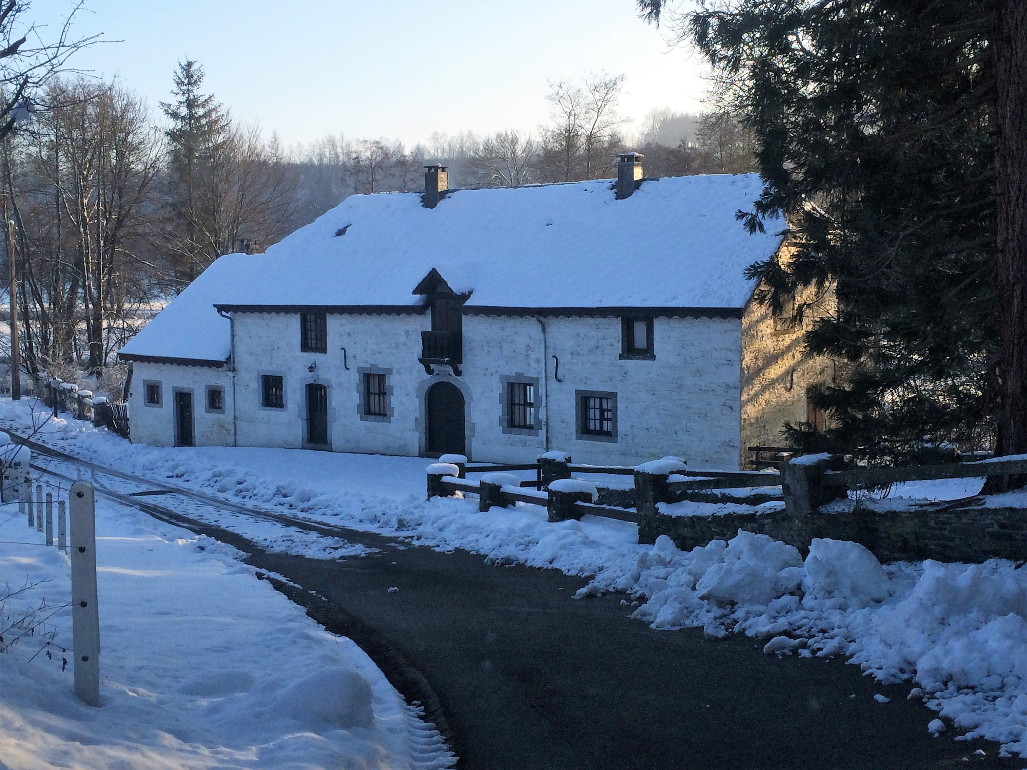 Vieux moulin belge, producteur de farine