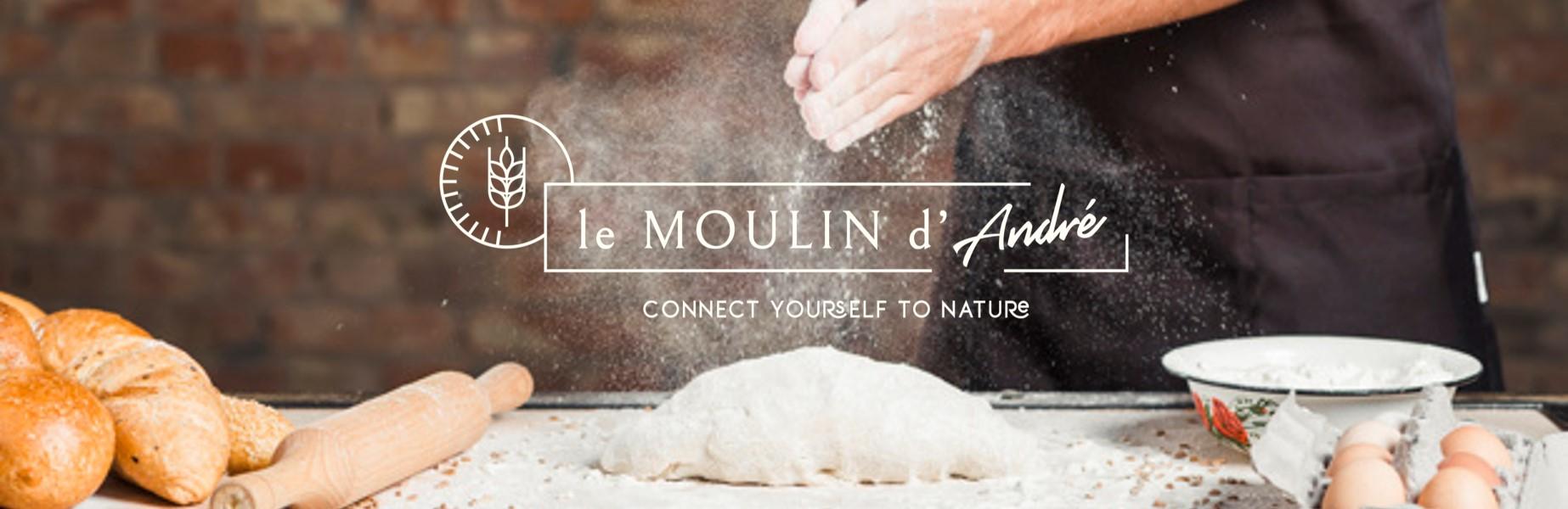 moulin d'André recettes farine pain